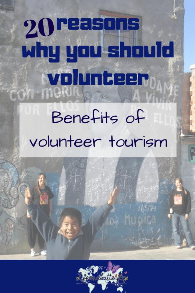 Benefits of volunteer tourism