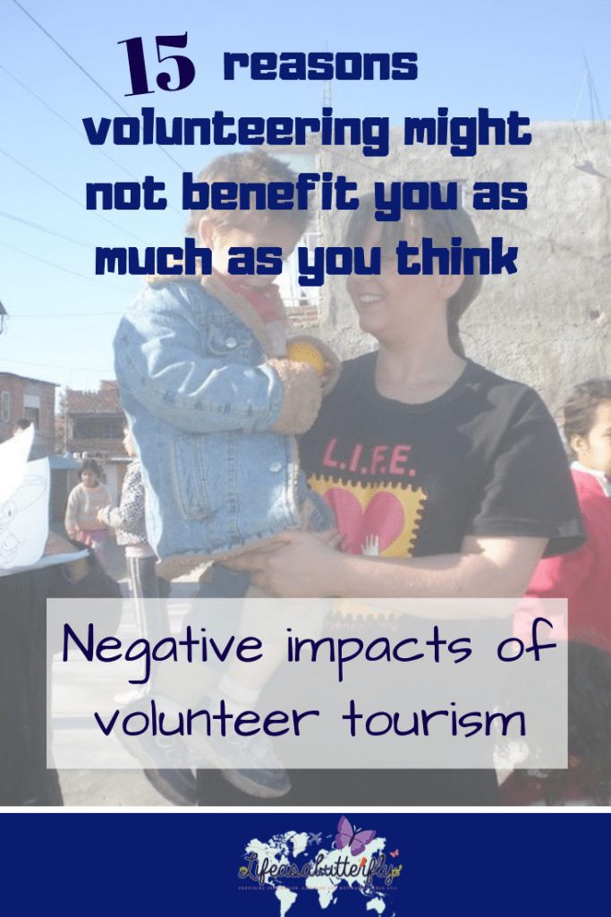 negative impacts of volunteer tourism