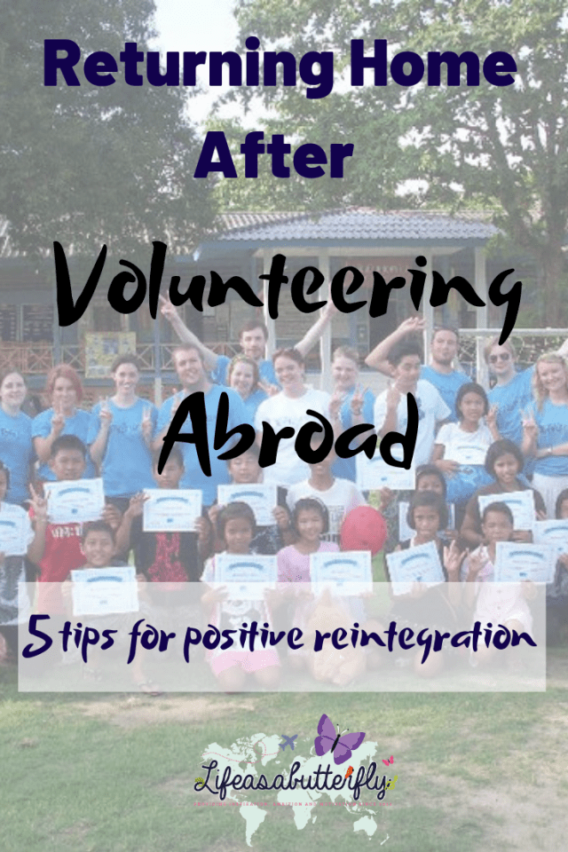 Returning Home After Volunteering Abroad