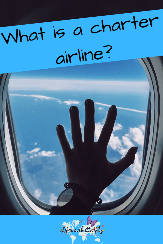 What is a charter airline?