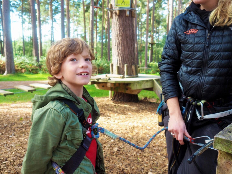A tree top adventure with Go Ape, Cannock