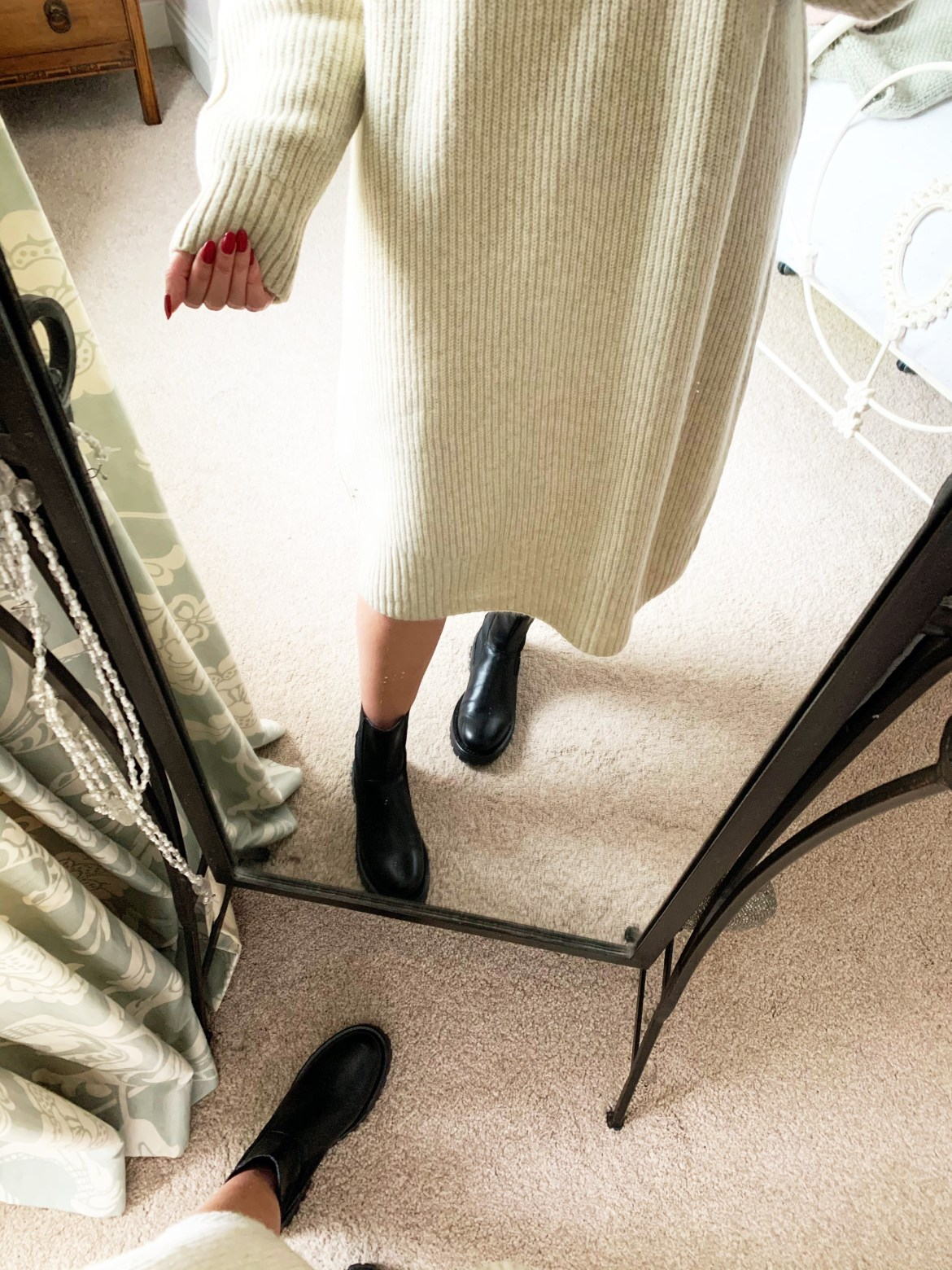 Chunky boots and Jumper Dresses [The KA Edit]