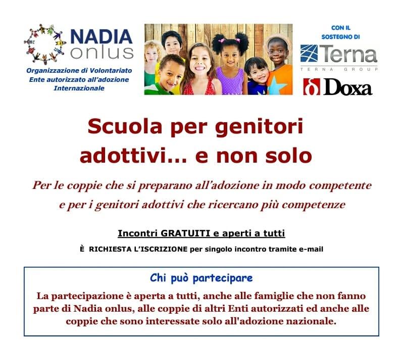 NADIA Onlus-Scuola per Genitori Adottivi…e non solo