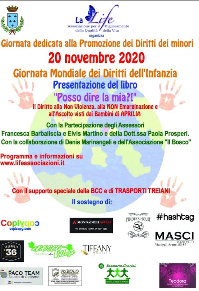 POSSO DIRE LA MIA?! Giornata dedicata alla Promozione dei Diritti dei Minori. 20 novembre 2020