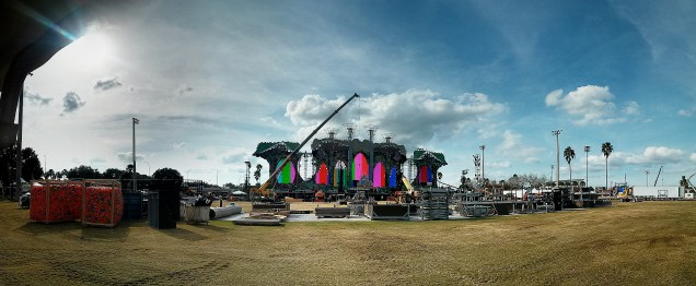 Main Stage build up