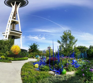 Chihuly glass garden, Seattle