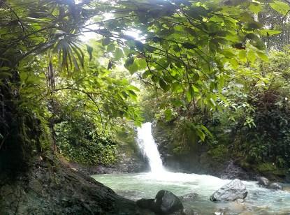 Uvita waterfall, Costa Rica