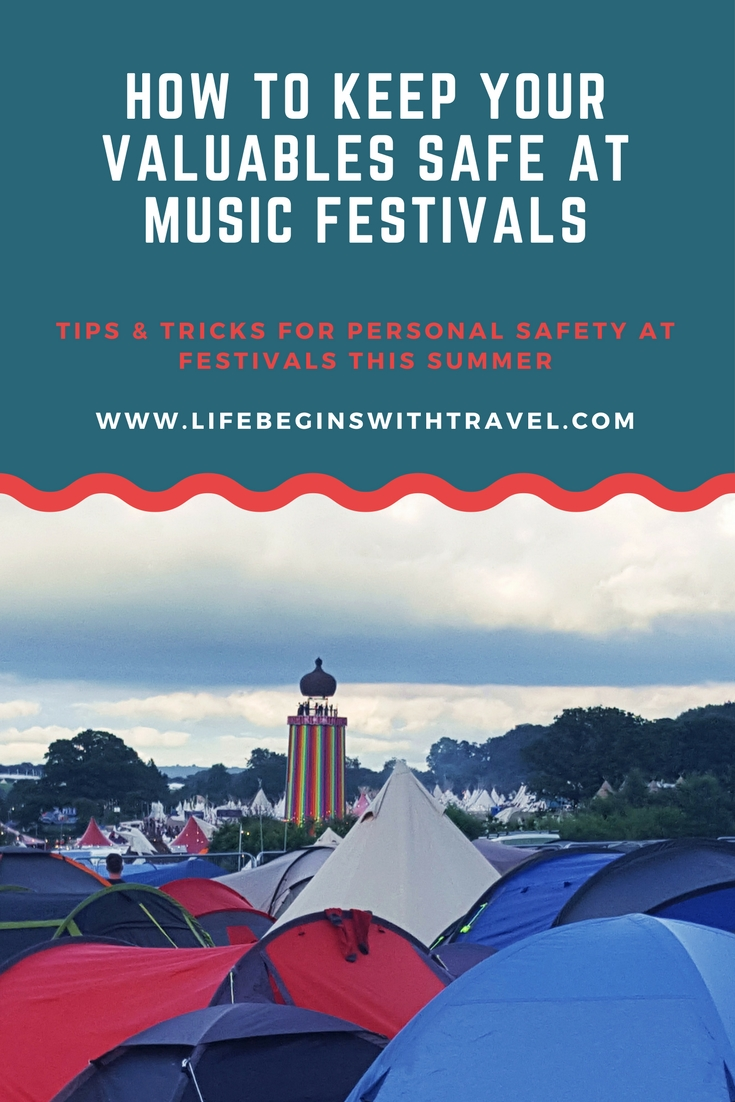 How to keep your valuables safe at music festivals - Pinterest