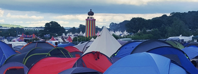 How to keep valuables safe at a music festival - Glastonbury 2016, tents