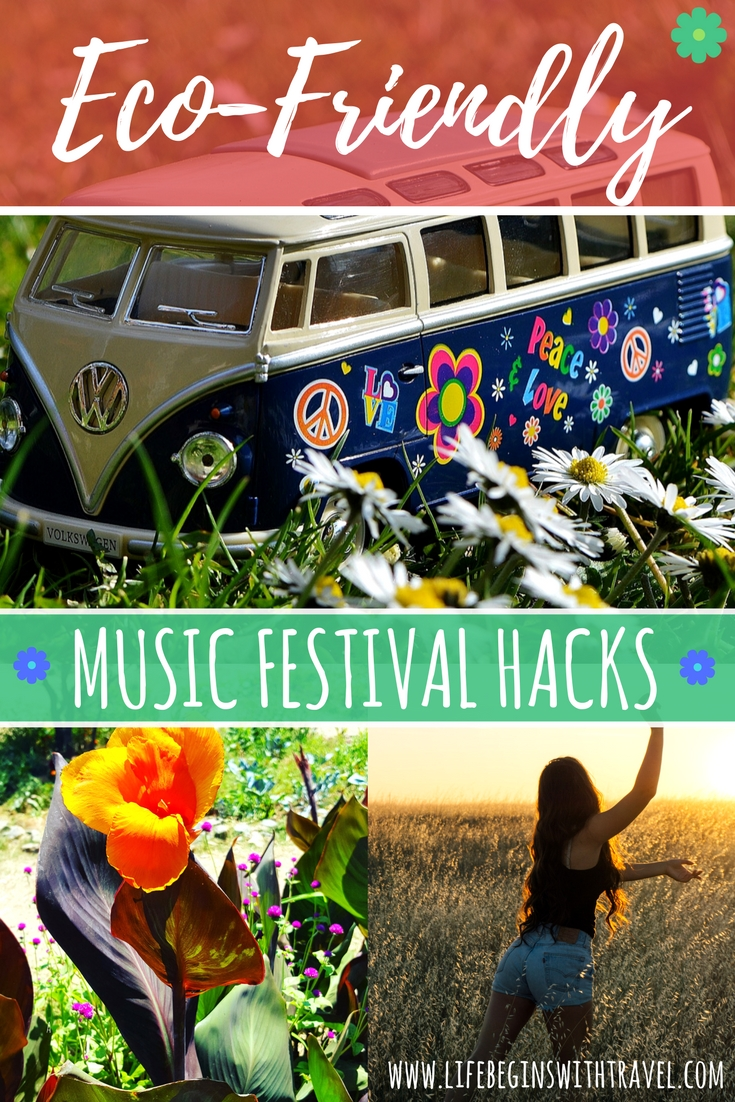 Eco-friendly music festival hacks