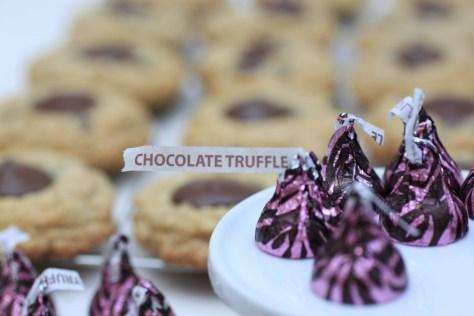 Oatmeal Chocolate Chip Truffle Blossom Cookies via LifeBetweenWeekends.com (Photos: Nathan Davison)