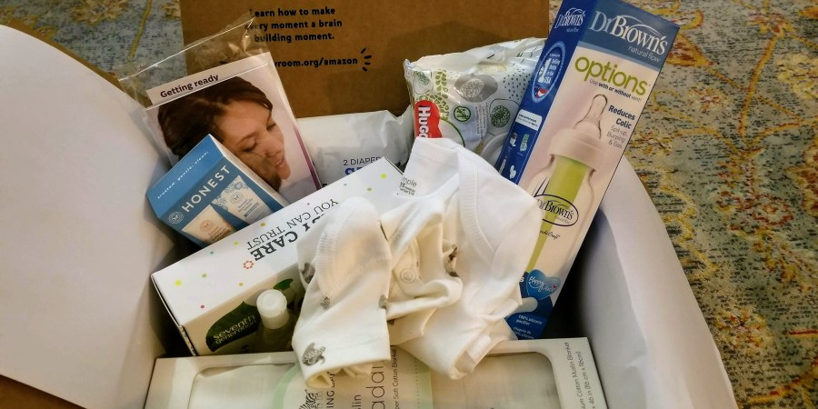 Check Out What Comes In Amazon's Free Baby Registry Box - life