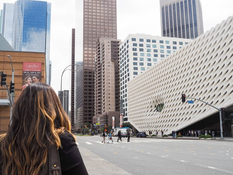 The Broad in Downtown Los Angeles