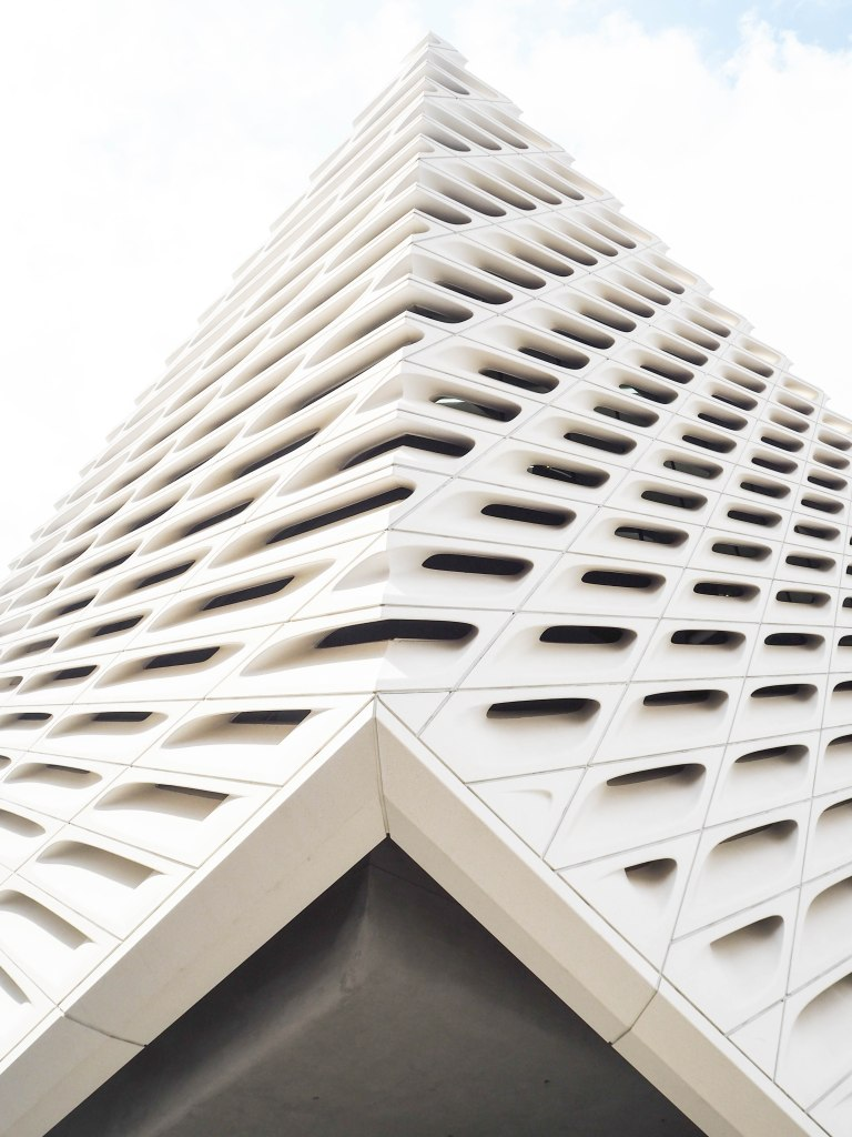 The Broad Museum in Downtown Los Angeles