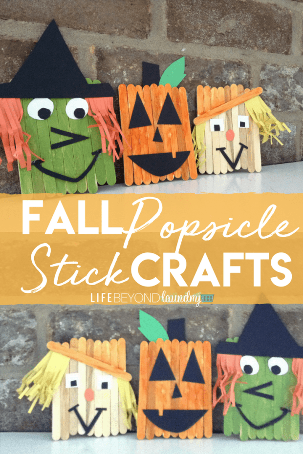 Fall Popsicle Stick Craft