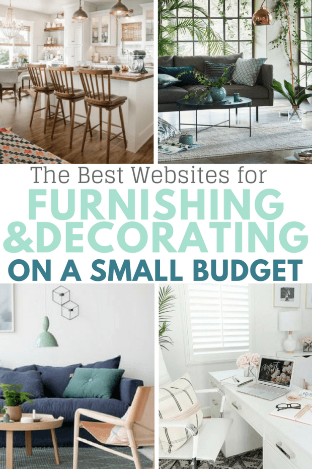 The best websites for furnishing your home or apartment on a small budget