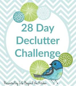 Are You Ready for A 28 Day Declutter Challenge?