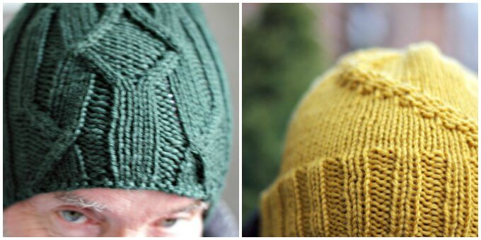 Easy Hats to Knit for the Men in Your Life ~ Life Beyond the Kitchen