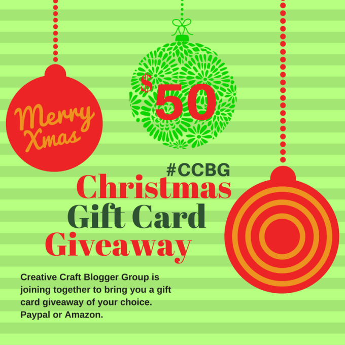 CCBG December Giveaway