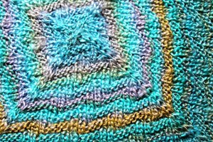 Make a Baby Afghan From Reclaimed Yarn