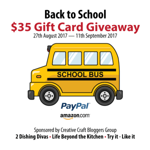 #CCBG Back to School Giveaway