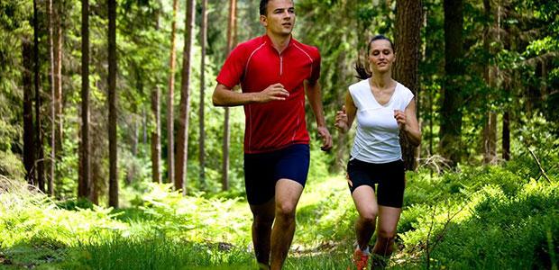 Bieganie po lesie