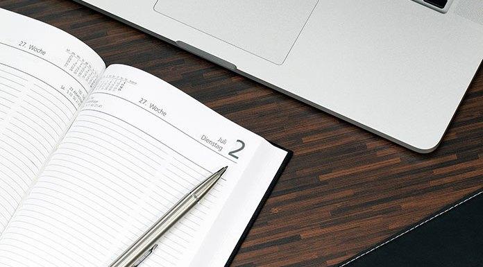 Kalendarz A4 tygodniowy idealny do zarządzania pracą