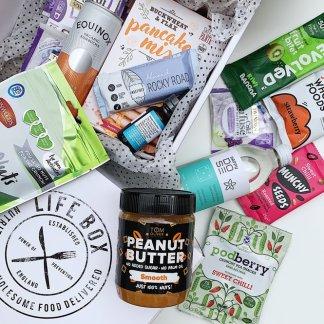 Lifebox vegan snacks for March 2020