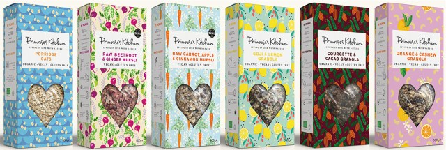 Collection of Primrose's Kitchen products