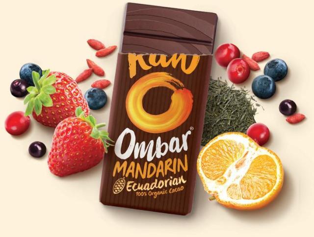 Ombar cacao vegan snack