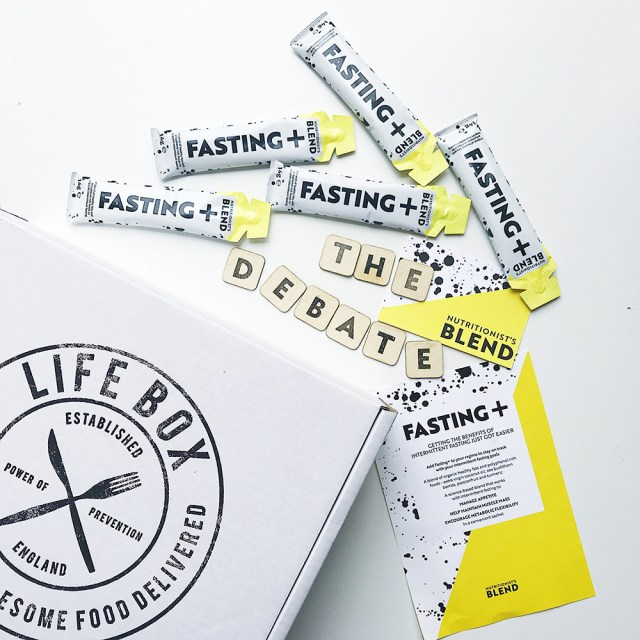 Lifebox with Fasting + blend