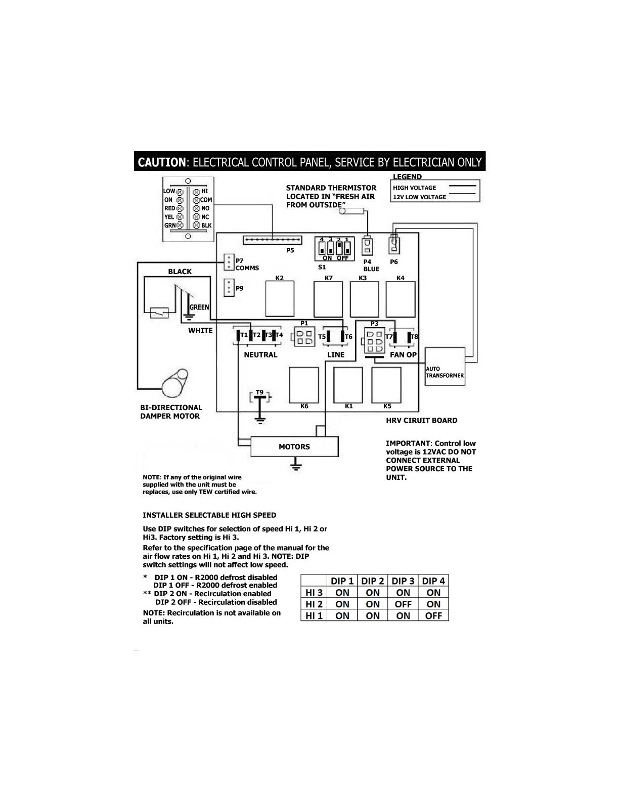 Lifebreath 130 Erv Residential Energy Recovery Ventilator Erv
