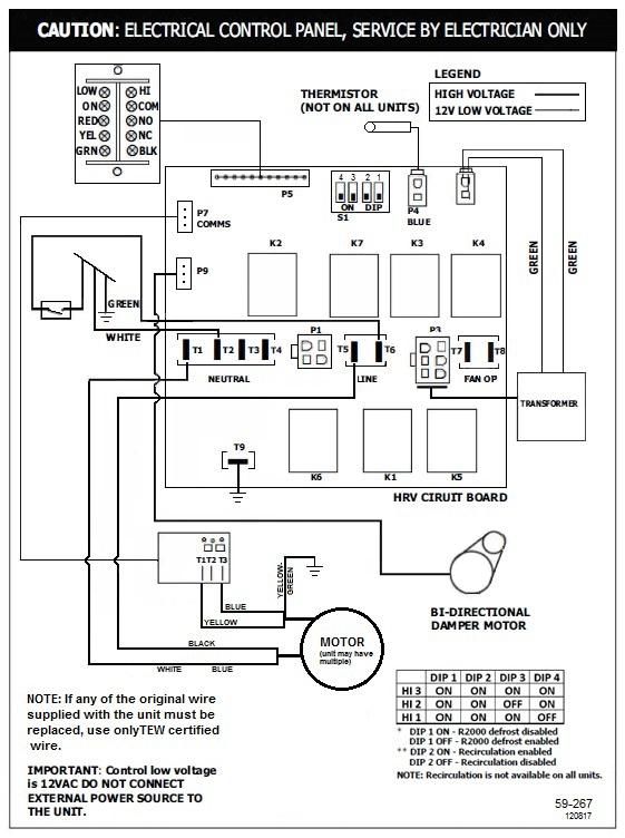 Lifebreath 267 MAX Residential Heat Recovery Ventilator
