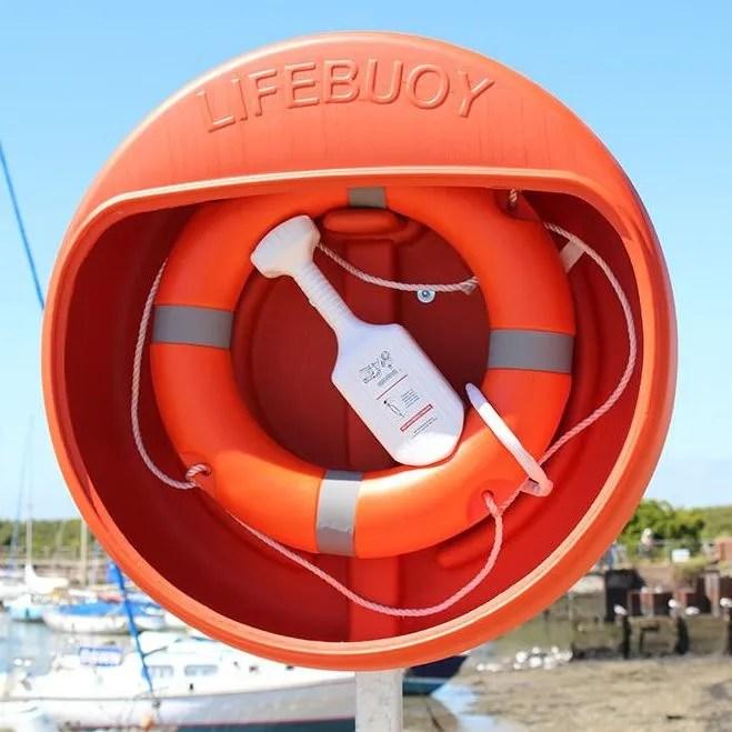 24 Inch Life buoy, Lifebuoy Housing & Throwline