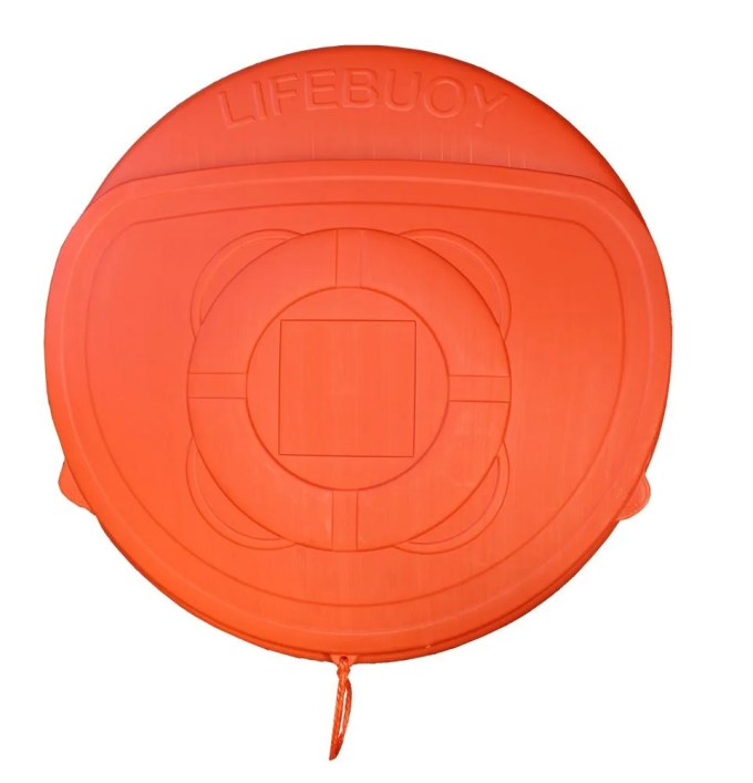 Lifebuoy Cabinet with cover ( enclosed)