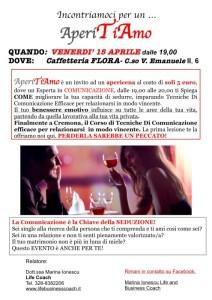 AperiTiAMO @ BAR FLORA | Cremona | Lombardia | Italia