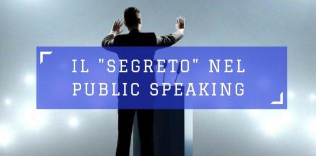pubblico speaking