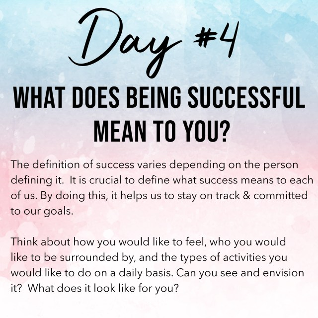 Day 4 Law of Attraction