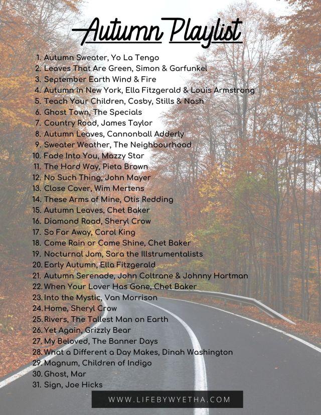 Autumn Playlist