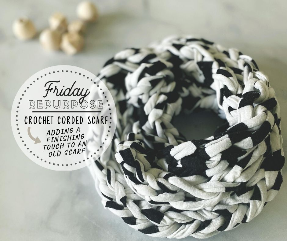 Friday: Completing A Cord Scarf