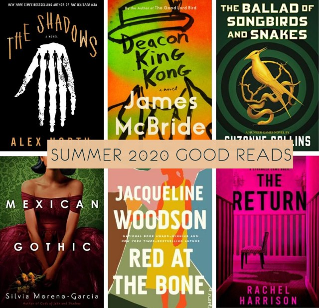 Summer Reads 2020 PIN