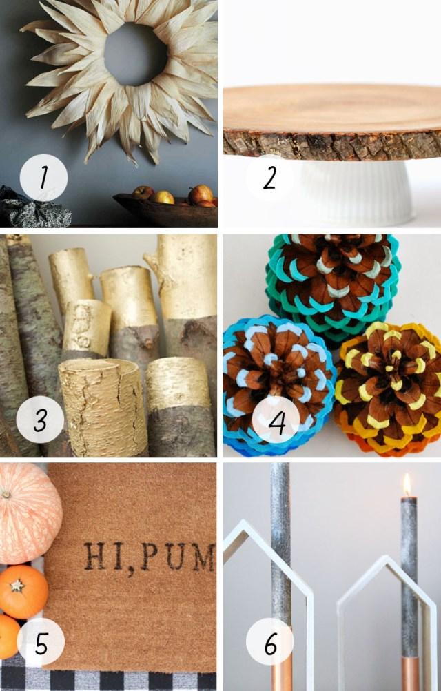 6 Modern Fall DIYs