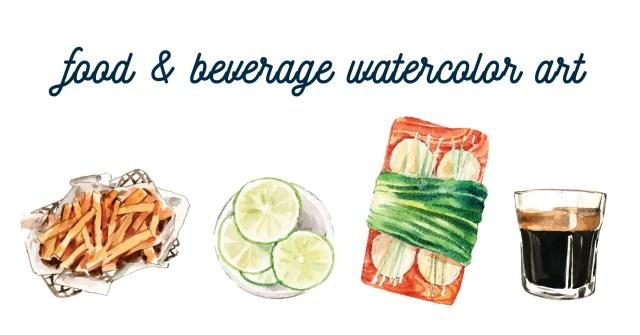 Freepik Watercolor samples