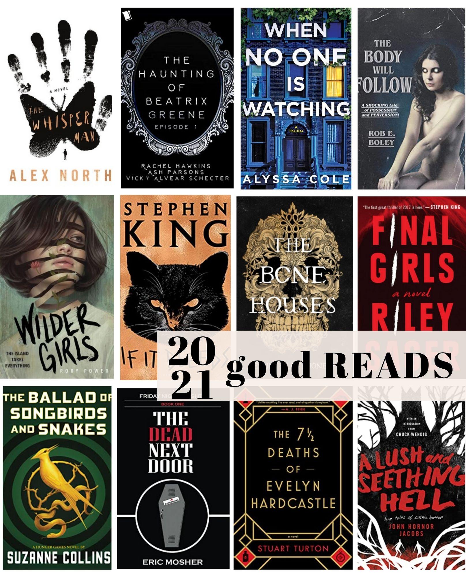 2021 Good Reads Challenge!