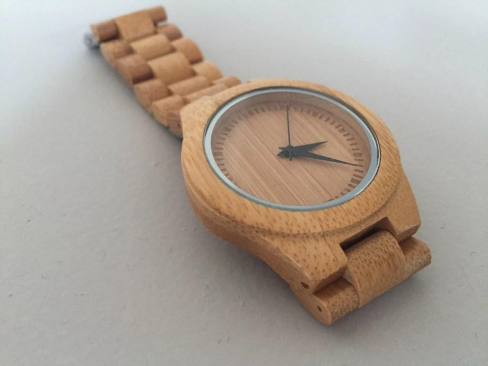 horloge van hout