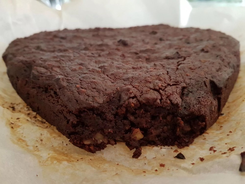 brownie met courgette