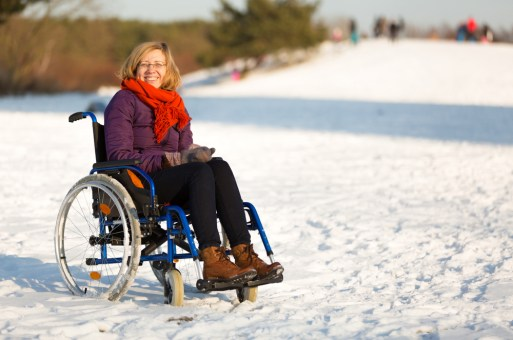 The Importance Of Practicing Winter Wheelchair Safety