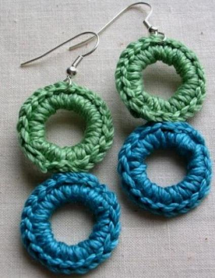 crochet earring patterns - Earring Design Ideas