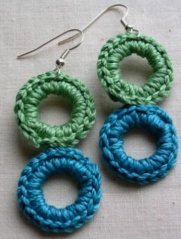 Crochet Earring Patterns