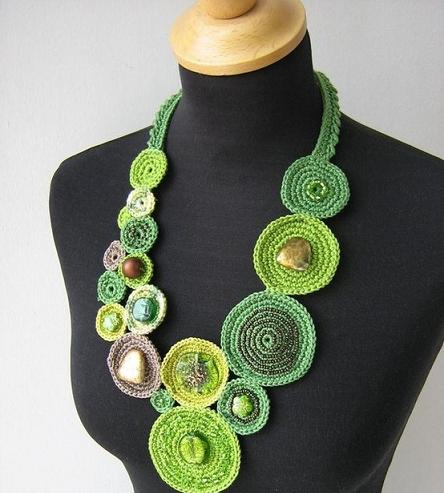 Beautiful Crochet Necklace Patterns And Designs
